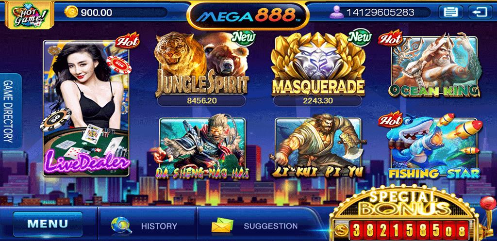 mega888 free credit new member sg