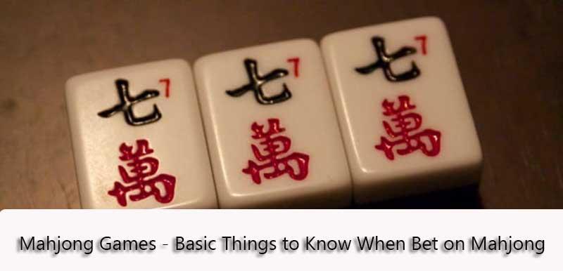 Online Mahjong Games at Bet88SG Casino