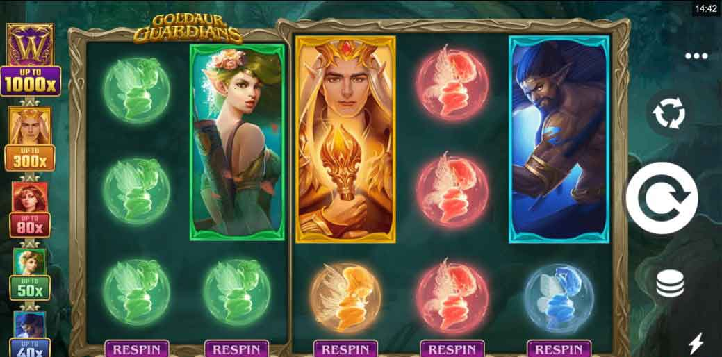 Goldaur Guardians Slot At Mega888