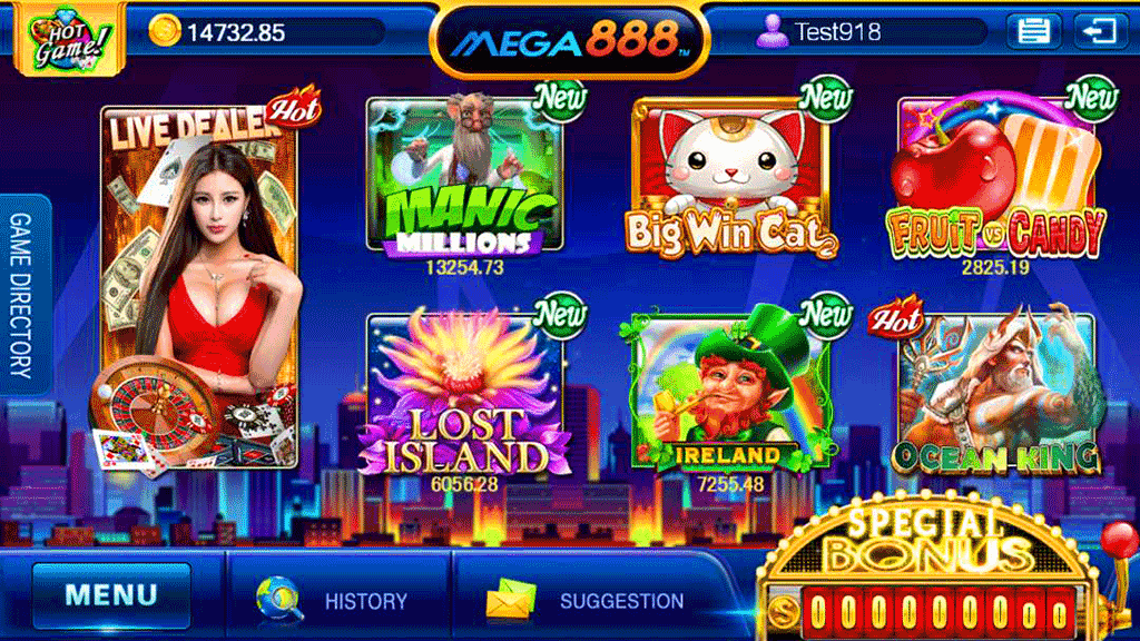 Mega888 Singapore slot game
