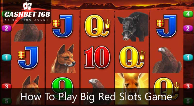 How To Play Big Red Slots Game At 918kiss?