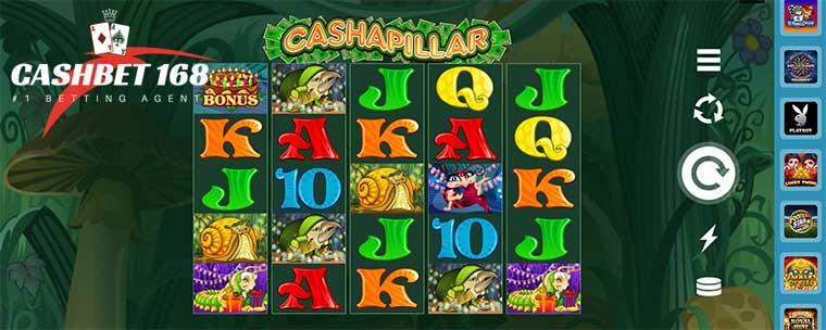 How To Play Cashapillar Slot At Mega888 Casino