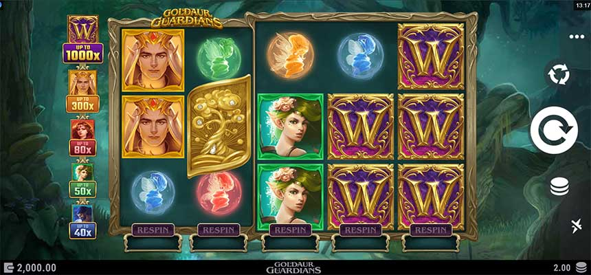 How To Play Goldaur Guardians Slot At Pussy888