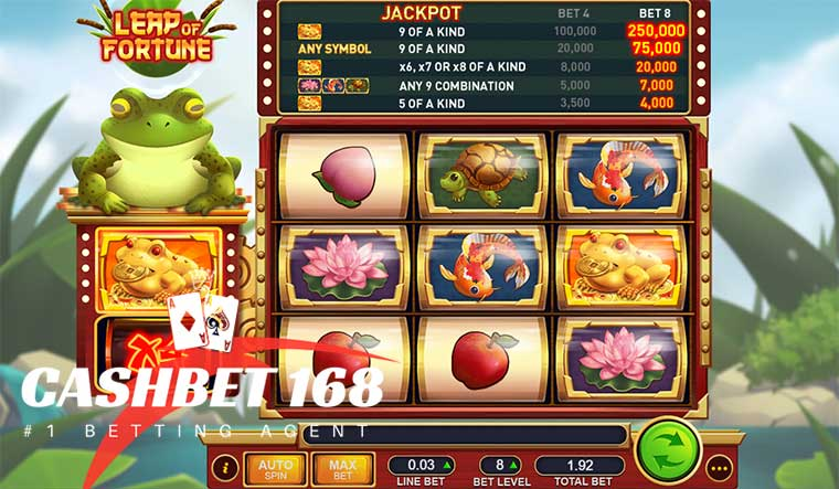 How To Play Leap Of Fortune Slot At Live22 Casino