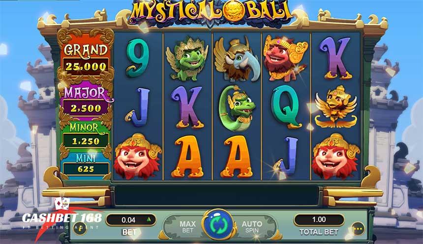 How To play Mystical Bali Slot At Mega888 Casino
