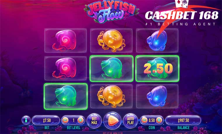How To Jellyfish Flow Slot Game At King855