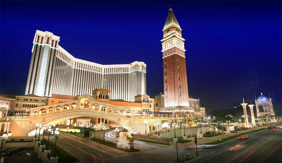 Venetian Macau, Macau, China With 546,000 Square Feet