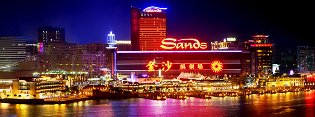 Sands Macau, Macau, China With 229,000 Square Feet