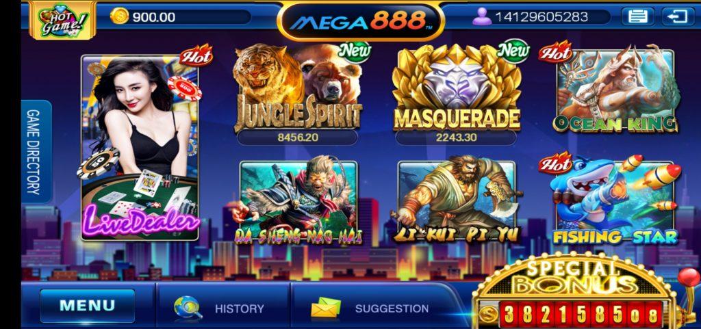 Mega888 apk singapore