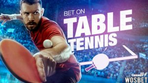The Wosbet Bookie Table Tennis Betting Instructions