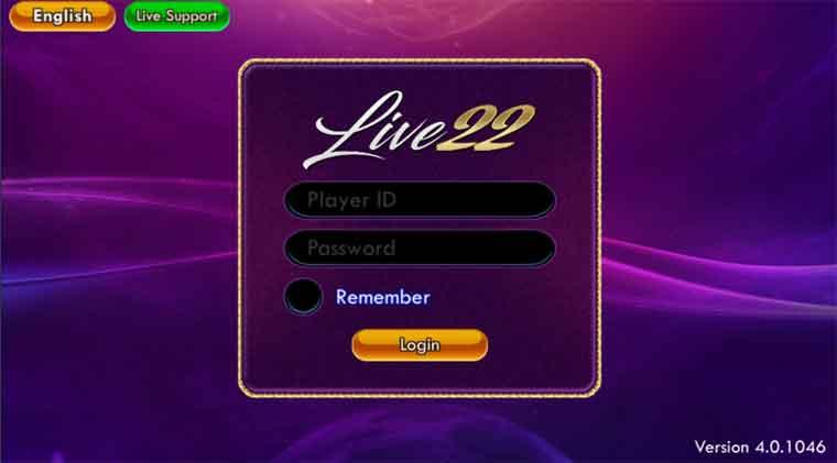 Live22 Agent Login